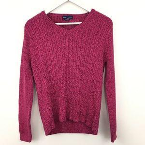 Karen Scott V-Neck Pullover Sweater